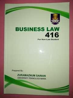 Business Law (UiTM Student)