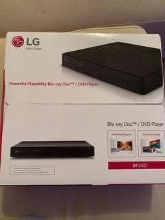 LG BP250 Blu-Ray DVD player
