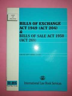 Bills of Exchange Act