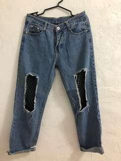 Pre-loved Ripped Jeans (a)