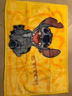 Disney Stitch fleece blanket 史迪仔厚毛氈
