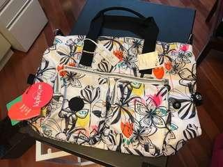 KIPLING Palm Print Handbag