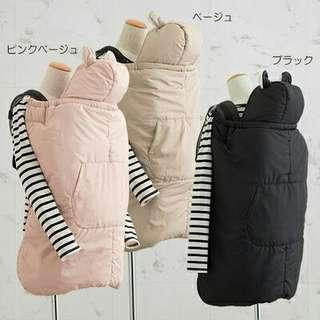 🚚 冬天外出必備多功能防風防潑水保暖背巾罩