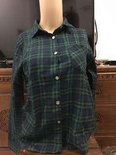 Green Square Shirt