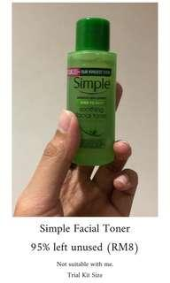 Simple Toner (Trial Size)