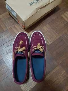 Sperry Topsider Canvas Shoes US9
