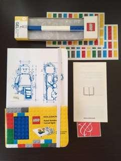 Moleskin LEGO Limited Edition Notebook II with Lego pen