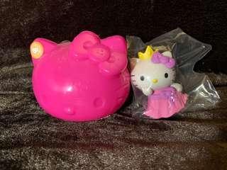 Hello Kitty 扭蛋 7-11 figure 公主 神秘造型 小擺設 公仔