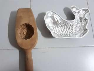 Wood metal mould