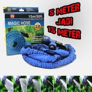 Selang ajaib 15 METER / Magic hose 50Ft 15 meter