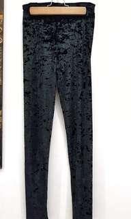 H&M Velvet Leggings
