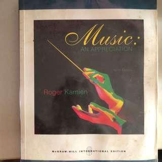 Music: An Appreciation Ninth Edition - Roger Kamien
