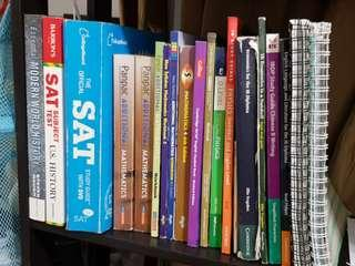 Textbooks (Secondary, IGCSE, O levels, IB, SAT)