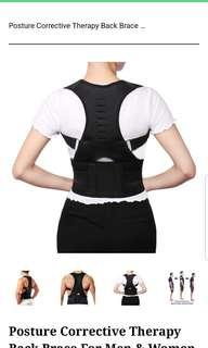 Corrective posture theraphy back brace