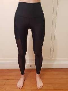 ACAI Active wear Black Leggings XS
