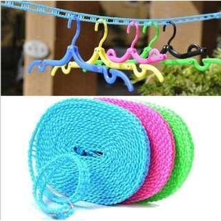 Tali Jemuran 5 Meter Clothes Line Laundry Baju Celana dll