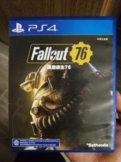 PS4 Fallout 76 中英文版