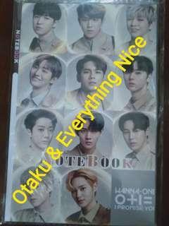 Wanna One Notebook Sample 2