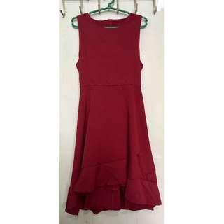 Maroon Semi-Formal dress