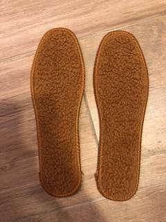 厚羊毛保暖鞋墊 36碼