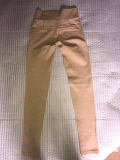 Brown stretched leggings/pants