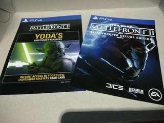 Starwars battlefront 2 deluxe code