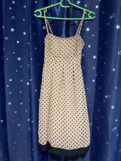 Pearlavish Polka Dot Dress