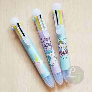 Unicorn 8in1 Multi Pen