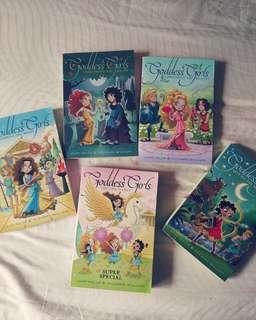Goddess girls - English books