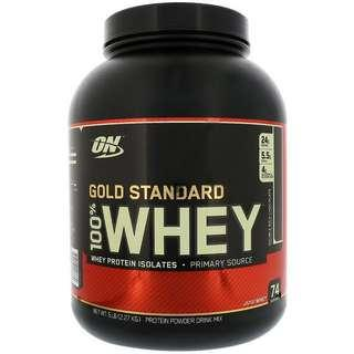 ON Optimum Nutrition Whey Protein 5lb Various Flavours