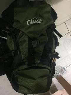 BUTUH UANG JUAL CEPAT tas backpack ransel carrier carboni 50L