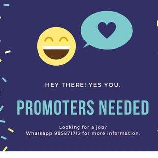 Sales Promoter (Events & Roadshows)