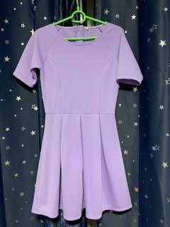 Intoxiquette Purple Dress