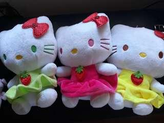 PreLoved Hello Kitty Stufftoys!!! Get All in a Low Price!