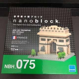 Nanoblock 法國凱旋門