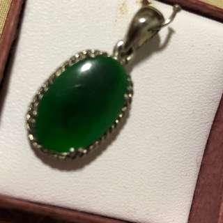 🚚 Authentic Jade Pendant very good grade from Burma