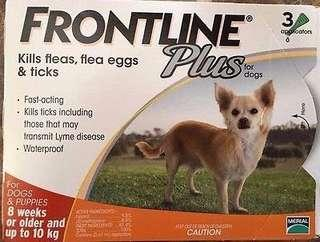 SALE - $27 - Frontline for puppies 3 doses