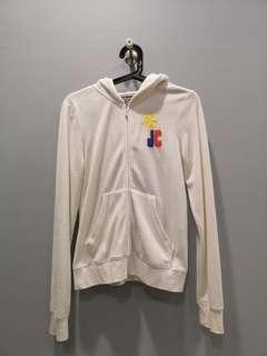 Juicy Couture White Hoodie
