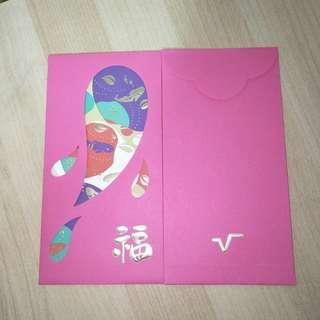Red packet from Velocity (3 pcs)