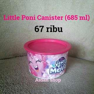 Little Poni Canister