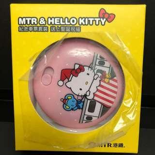 Hello Kitty 電子暖手路 港鐵