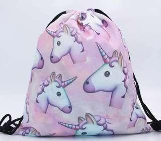 Unicorn drawstring bag #CNYRED #CNY888