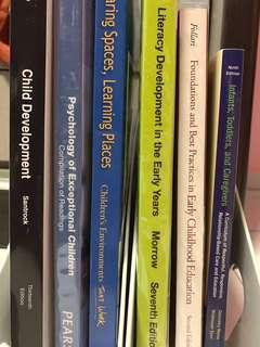 Early Childhood Textbooks SALE