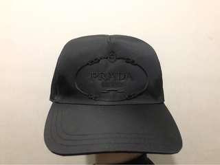 b8a69d6c77c56 Prada Nylon Baseball Cap