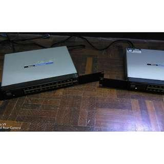 Cisco Linksys SR 224 24 port 10/100 MB Switch