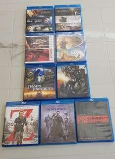 Blu Ray Disc - Blockbuster Movies