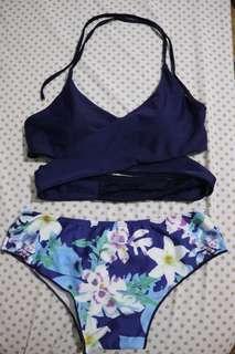 🌸 Blue Bikini w/ extra bottom