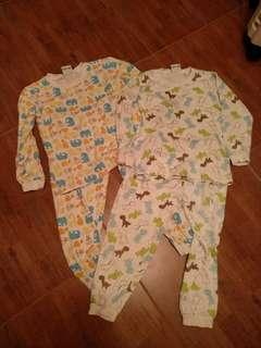 2set Pyjamas kids boys girls Unisex XL