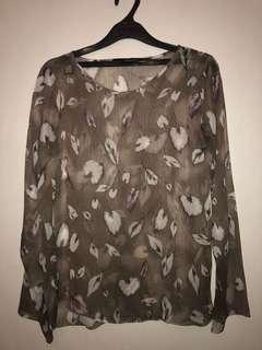 SHOPATVELVET - floral blouse