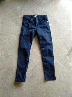 🚚 BNWT H&M navy blue superstretch pants